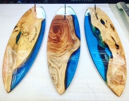 Resin Surfboards