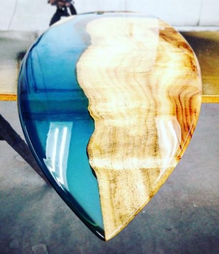 Josh Marks Resin Surfboard