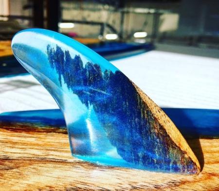 Hardwood Tides Surfboard