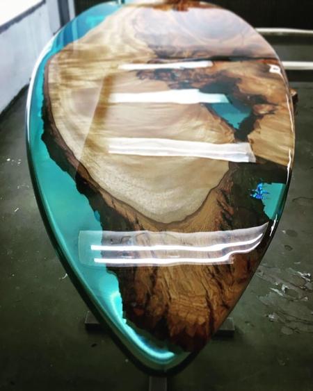 Josh Marks Surfboard
