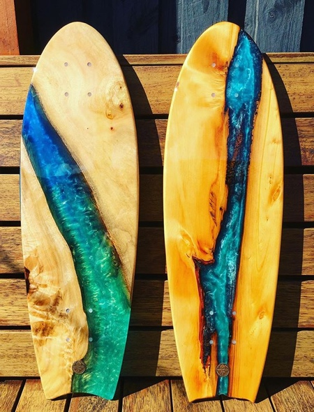 Timber and Resin Surfboards
