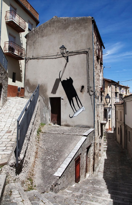 Alex Senna Shadow Street Art