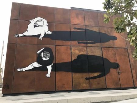 Alex Senna Shadows Street Art