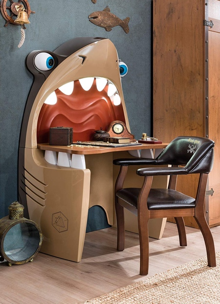 Cartoon Shark Desk