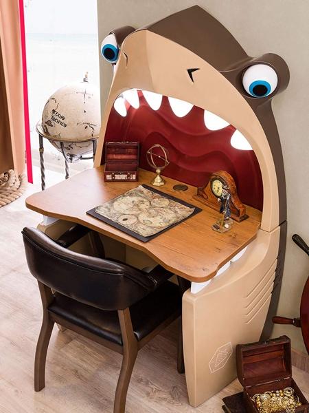 Kids Bedroom Shark Desk