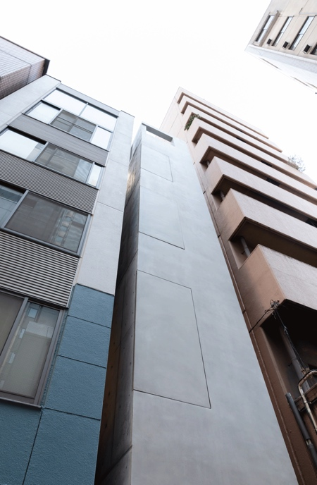 Ginza Alley Skinny Building