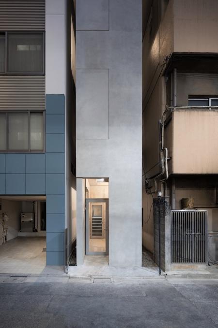 Japan Skinny Building