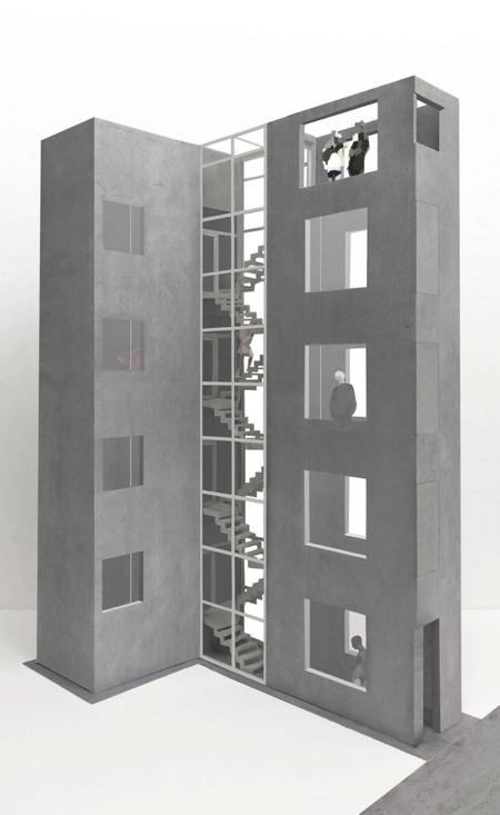 SO&CO Skinny Building