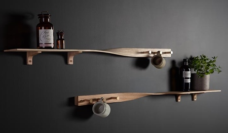 Tom Raffield Tor Twist Shelf