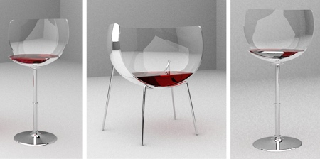 Wine Glass Chairs