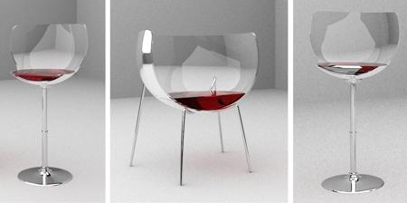 Wine Glass Chairs
