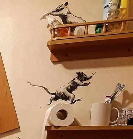 Banksy Home Art