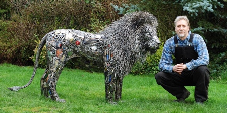 Metal Sculptures by Brian Mock