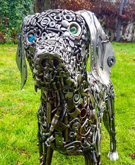 Brian Mock Metal Sculptures