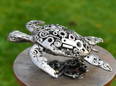 Brian Mock Metal Sculpture