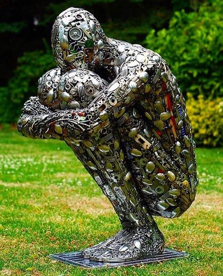 Brian Mock Sculpture