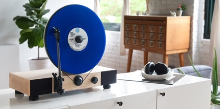 Floating Record Player