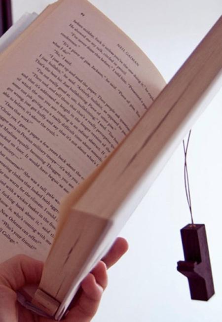 AGUSTAV Hanging Books Shelf