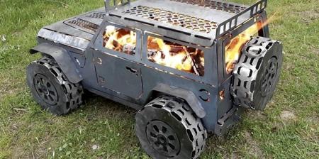 Jeep Wrangler Fire Pit