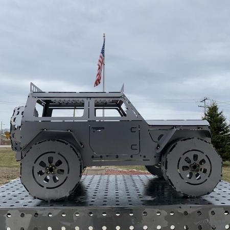 Jeep Wrangler FirePit