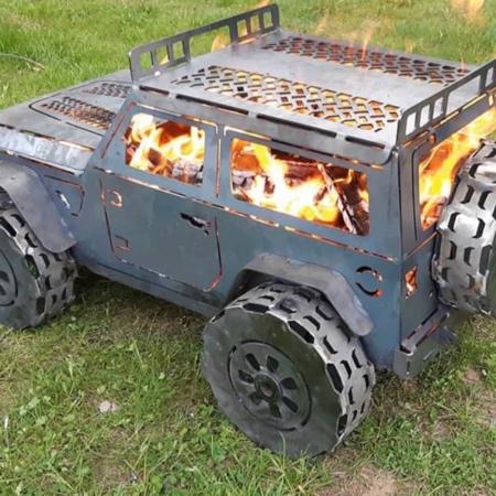 Jeep Wrangler Fireplace