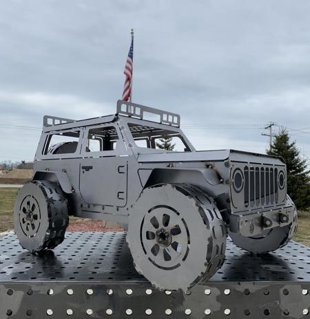 Jeep Fireplace