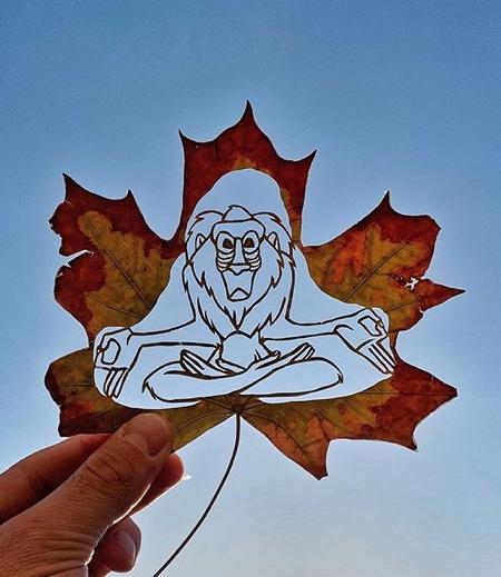 Leaf Cutter Kanat Nurtazin