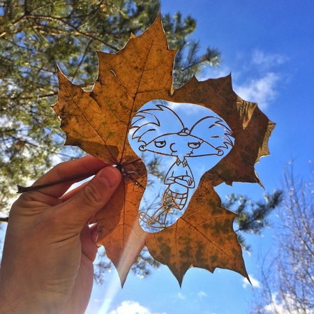 Kanat Nurtazin Leaf Carving