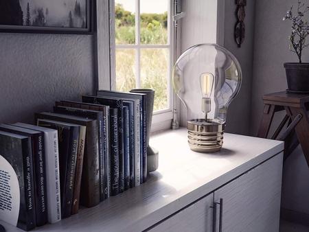 Lightbulb Table Lamp