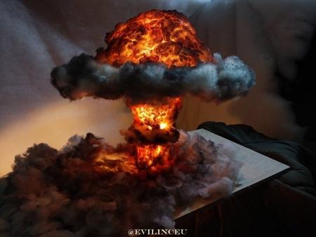 Nuke Fallout Lamp