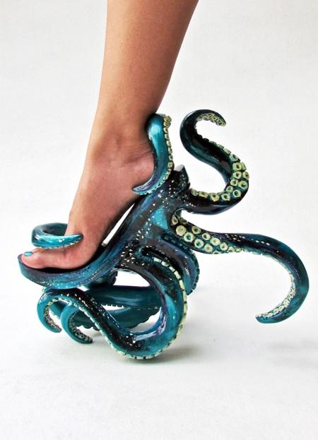 Kermit Tesoro Octopus Shoes