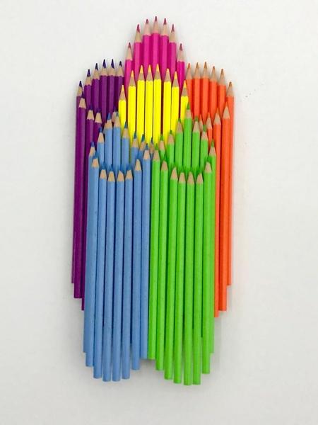 Pencil Stack Art