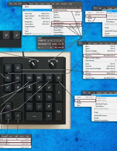 Photoshop Shortcuts Keyboard