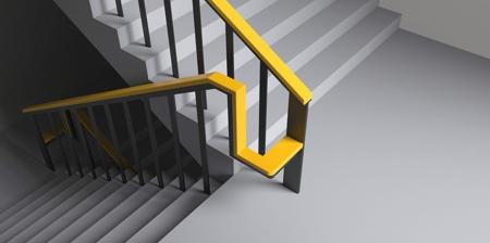 Stairs Handrail Rest Chair