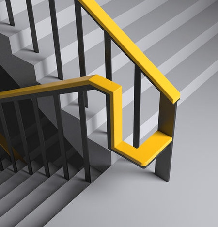 Staircase Handrail Rest Chair
