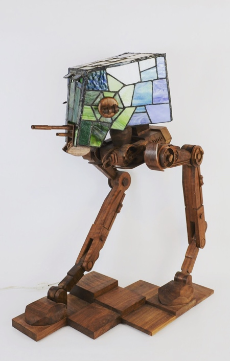Stained Glass Star Wars Lamp