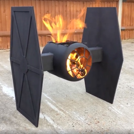 TIE Fighter Fire Pit