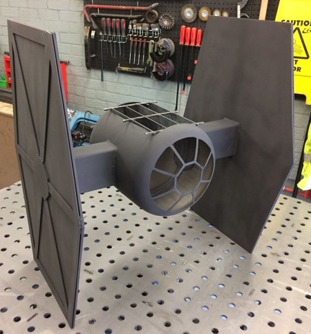 Simon Gould Star Wars TIE Fighter