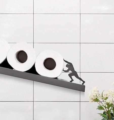 Sisyphus Toilet Paper Shelf