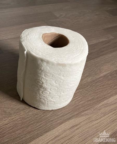 Toilet Roll Cake