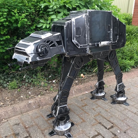 AT-AT Walker BBQ Fire Pit