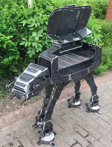 AT-AT Walker Fire Pit