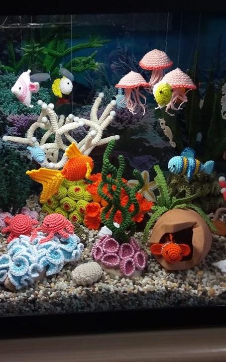 Lindadi Crocheted Aquarium