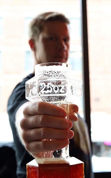 Dumbbells Beer Glass