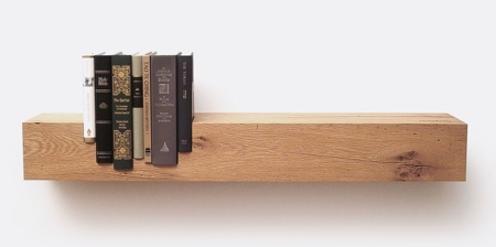 Juxtaposed Bookshelf