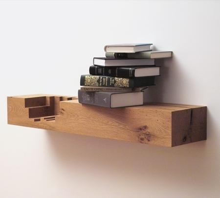 Juxtaposed Shelf