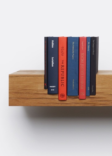 Juxtaposed Shelves