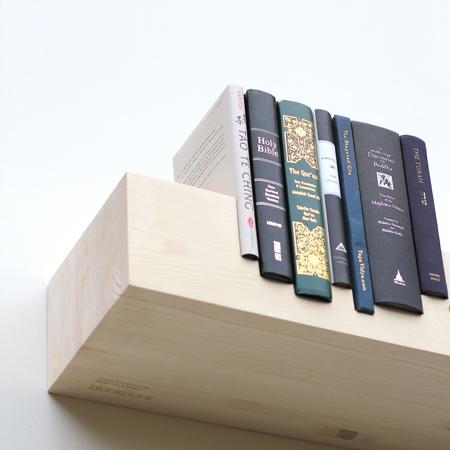blankblank Juxtaposed Bookshelf