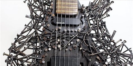 Guitar Made of Nails