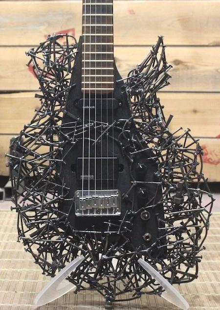 Tim Sway Nails Guitar